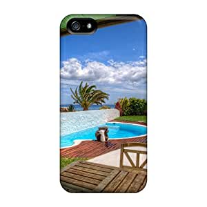 Protective Cases With Fashion Design For Iphone 5/5s (villa Hdr)