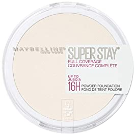 Maybelline Super Stay Full Coverage Powder Foundation Makeup No. 1 New Powder Launch of 2019!