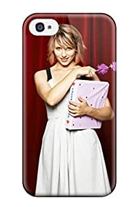 Durable Dianna Agron 5 Back Case/cover For Iphone 4/4s
