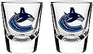 NHL Vancouver Canucks Shot Glass, 2-Pack