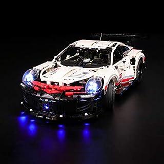 LIGHTAILING Light Set for (Technic Porsche 911 RSR) Building Blocks Model - Led Light kit Compatible with Lego 42096(NOT Included The Model)