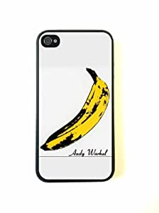TYH - ipod 4 Case - Silicone Case Protective ipod Touch4 Case- Andy Wharol Banana ending phone case