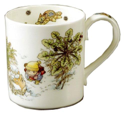 × Studio Ghibli Totoro(Veronica persica) Mug Cup - Noritake T97265/4660-1