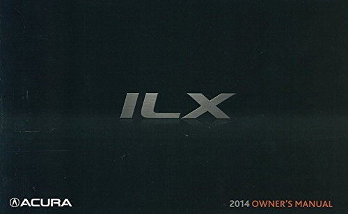 2014 Acura ILX Owner's Manual Guide Book