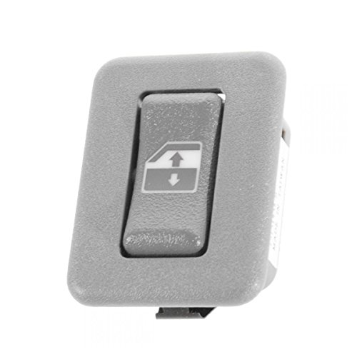 (Power Window Switch Gray Rear LH Left or RH Right for Chevy GMC Pickup SUV)