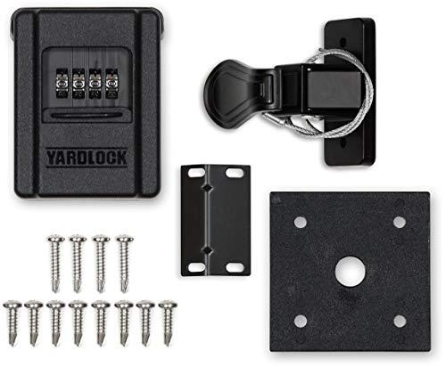 YARDLOCK Keyless Shedlock, Shed Door Lock, Barn Door Lock and for Cabinets  (MBX-2018S-3ESF)