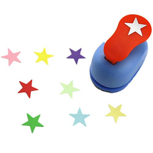 CADY Crafts Punch 1-Inch paper punches puncher (Five-pointed star) ()