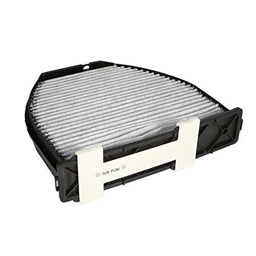 Qiilu Car Cabin Air Filter For Mercedes Benz AMG GT S C250 C300 Includes Activated Carbon (CUK29005) by Qiilu (Image #1)