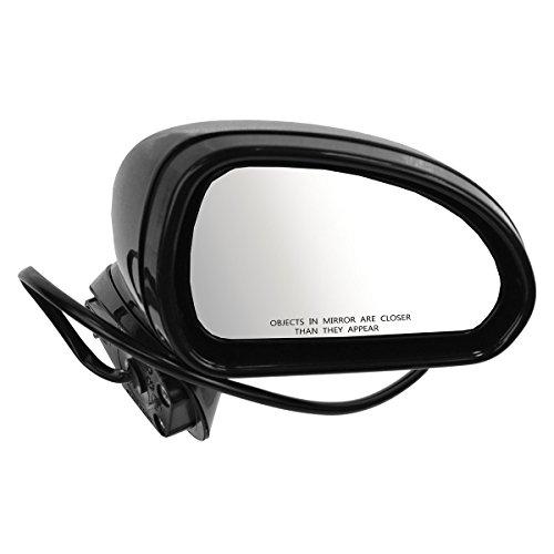 Mirror Power Black RH Right Passenger for 06-12 Mitsubishi Eclipse ()