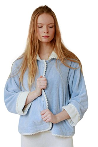 - Bath & Robes Women's Chenille Bed Jacket (1X)