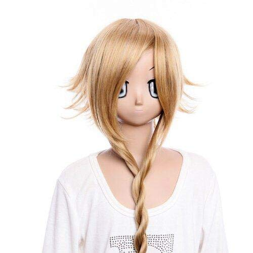 Cosplay Party Wig Soul Eater Medusa Long Shine Brown Costume WigGooaction Long Shine Brown Braid Cosplay Wig Soul Eater Medusa Anime Party Costume Wigs