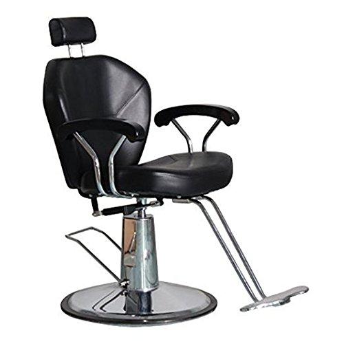 shengyu Hydraulic Reclining Barber Chair Salon Shampoo Beauty Spa Equipment (black)