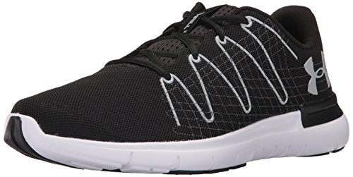 Under Armour Men's Thrill 3, Black (001)/White, 12