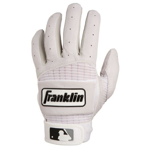 UPC 025725314485, Franklin Neo Classic Batting Gloves (Adult Large, White/Pearl)
