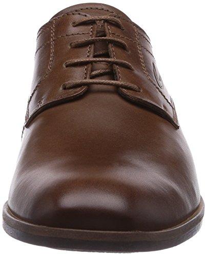 camel active Washington 11 - zapatos con cordones de cuero hombre Braun (Brandy)