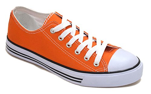 Sneaker Toe Orange Shoes Classic Canvas Athletic Women's Basketball Low Top Fashion Cap 2 0 Tennis PznxqX