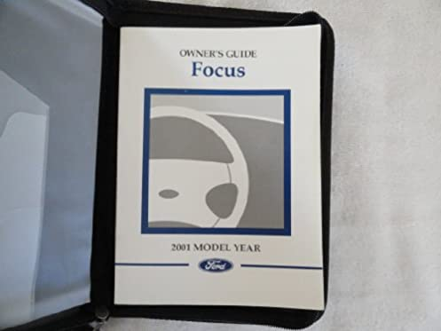 2001 ford focus owners manual ford amazon com books rh amazon com ford focus owners manual 2008 ford focus owners manual 2018