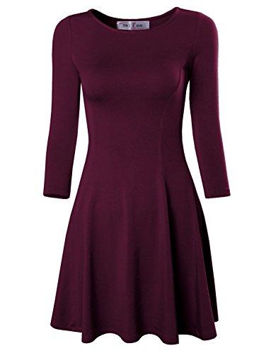 Round Womens Dress - 3