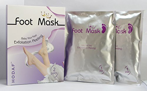 Foot Peel Softer Feet Essential Foot Mask, Exfoliating Callus Remover for Dry Skin, Toes, and Cracked Heels (2 Pairs Per Box). Baby Your Feet With Magic Skin Exfoliating Foot Mask for Softer Feet. Review