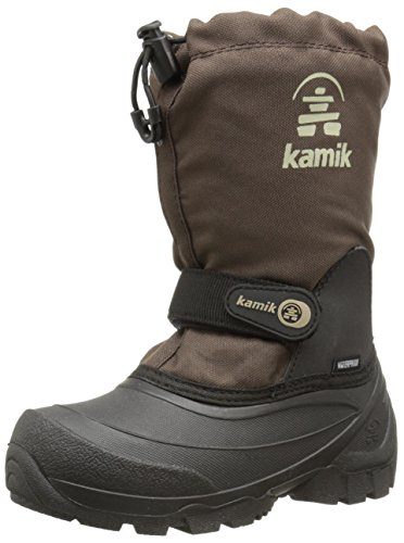 Kamik Snoday Insulated Winter Boot , Dark Brown, 4 M US Big