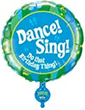 Single Source Party Supplies - 31'' Singing Dance! Sing! Mylar Foil Balloon