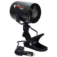 Ventilador para tornado RoadPro de 12 V con clip de montaje extraíble o montaje permanente