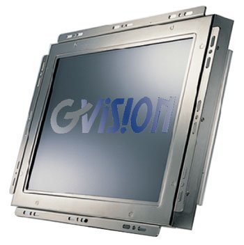 Gvision Touch Monitors K15TX-CB-0630 LCD Touch Screen, Open Frame, 5-Wire Resistive-USB, XGA 1024 X 768, 250 Nits, 700:1 Contrast, 75 mm Vesa, 15