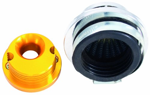 Outside Distributing 06-0404  Short Cone Wire Mesh Air Filter Kit with Carb Adapter