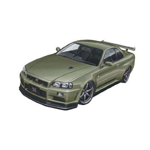 - 1/24 R34 Skyline GT-R V-spec II Nur (Millennium Jade)