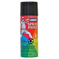Abro ABS39 Colour Spray Paint (400ml, Glossy Black)