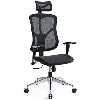 Amazon Com Topsky Mesh Computer Office Chair Ergonomic