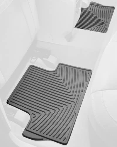 WeatherTech All-Weather Trim to Fit Rear Rubber Mats for Toyota Prius Grey