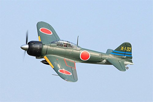 FMS Zero Fighter A6M3 RC Airplane 6CH 1400mm (55.2