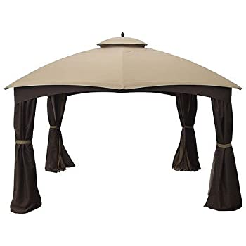 Garden Winds Replacement Canopy for AR Dome Gazebo Rip Lock 500  sc 1 st  Amazon.com & Amazon.com : APEX GARDEN Replacement Canopy Top for the Loweu0027s 10 ...