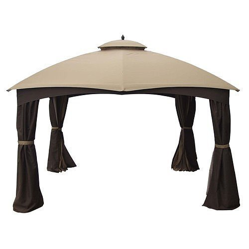 Garden Winds Replacement Canopy for AR Dome Gazebo Rip Lock