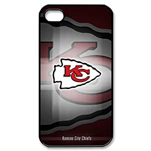 Forever Collectibles NFL Kansas City Chiefs IPhone 4 4S Hard Case Cover KC Chiefs