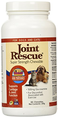 Ark Lighting  Joint Rescue for Dogs and Cats, Super Strength, 60 Chewable Tablets