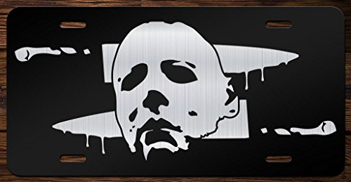 Michael Meyers Vanity Front License Plate Tag KCE083]()