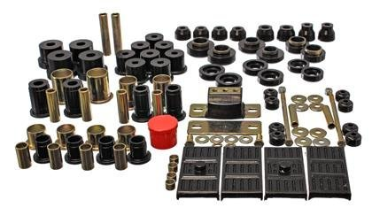 Energy Suspension Camaro Front Bushings - Energy Suspension Hyperflex Bushing Kit 67-69 Chevy Camaro Black (3.18119G)