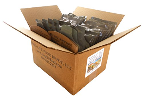 MRE Entree & Side Dish Combo - 20 pack