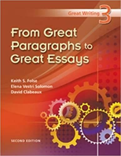 Great paragraphs to great essays