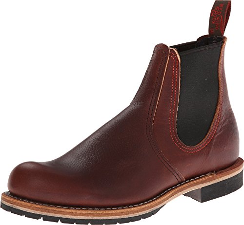 Chelsea Wing - Red Wing Heritage Men's Chelsea Rancher, Brown, 9 D (M)