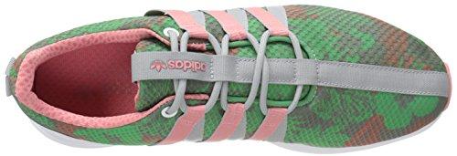 adidas Originals SL Loop W Racer Estilo de Vida Zapatilla de Deporte, Core Negro/Resaca Gasolina/ White/Blush Green/Vista Pink