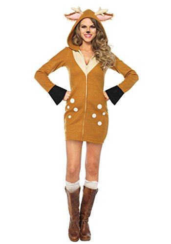 Leg Avenue Women's Costume, Brown/Khaki, X-Large