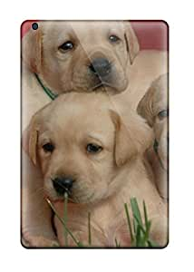 Anti-scratch And Shatterproof Labrador Retriever Puppies Phone Case For Ipad Mini/mini 2/ High Quality Tpu Case