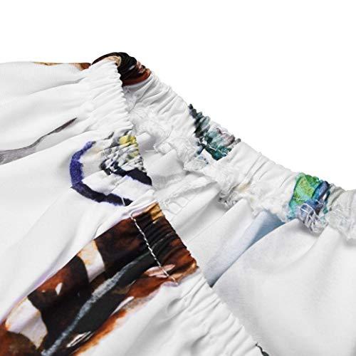 Hiver Casual Jaune Tee Mode Basique Automne Habite Vetement Dnud SANFAHSION Tops Lin Femme Chemise Florale Manche Shirt paule Chic Haut Longue xn7wHvqRSf