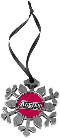 LinksWalker New Mexico State Aggies Snowflake Ornament