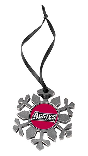LinksWalker NCAA New Mexico State Aggies - Snow Flake Ornament