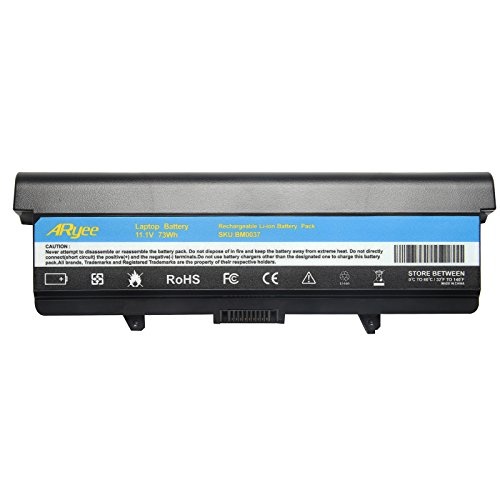 - ARyee 1525 Battery Compatible with Dell Insprion 1525 1526 1545 1546 1750 Vostro 3500 fit D608H 0F965N 0F972N G555N G558N GP952 GW240 M911G G555N GP952 GW240 RN873(6600mAh 11.1V)