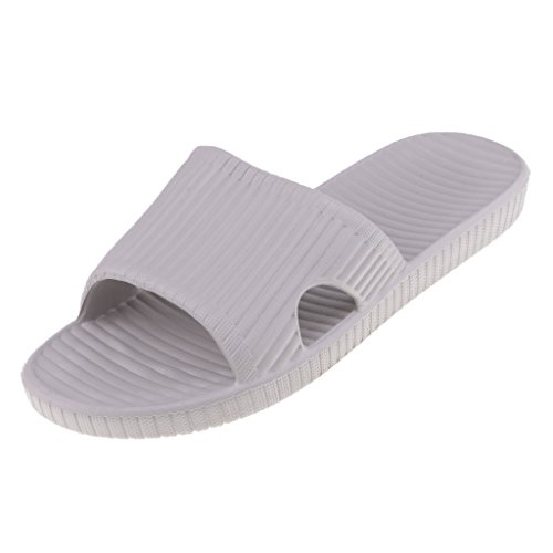 Antiscivolo Pantofole Slittato Strisce Sandalo A Blesiya Da Grigio Bagno B Su qWaZHnzxY7